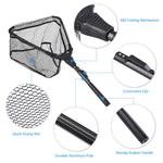 Load image into Gallery viewer, Portable Triangular Folding Fish Landing Net - Survivalways