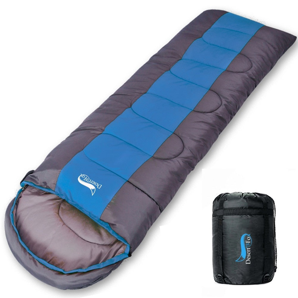 Sleeping Bag - Lightweight 4 Season Warm & Cold - Survivalways