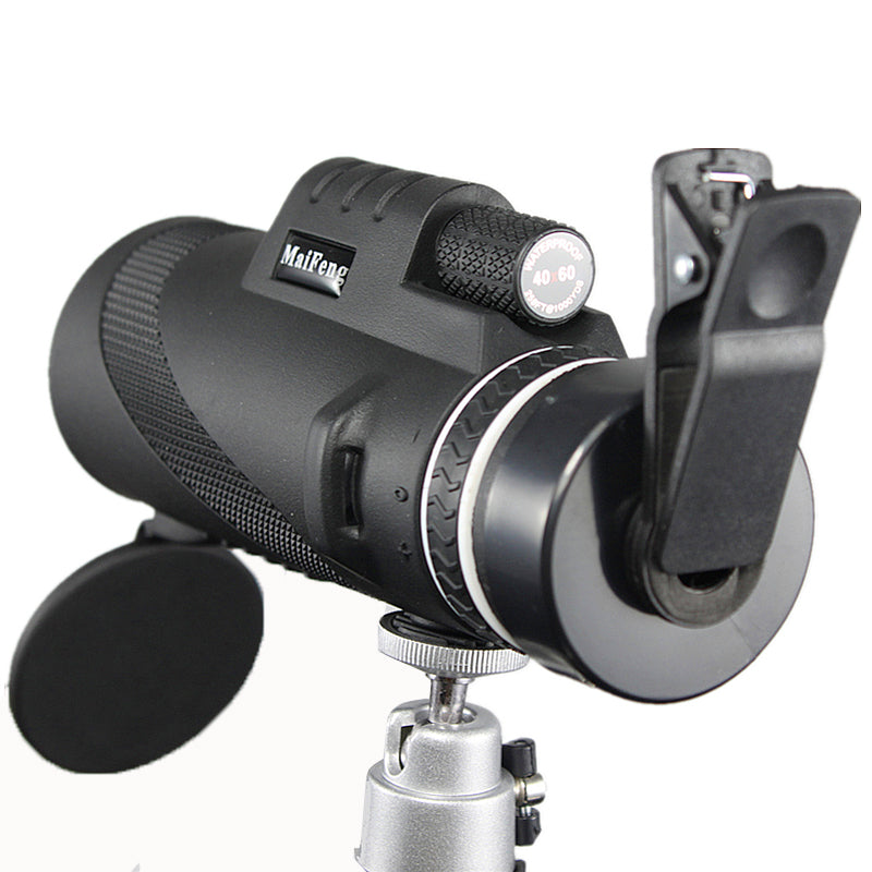 Powerful Monocular 40x60 - Great Handheld Telescope, Night vision HD, Hunting - Survivalways