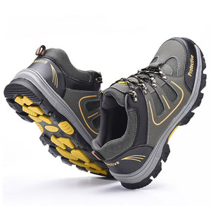 Safety Shoes - Steel, Anti-Slip, Anti-Smashing - Survivalways