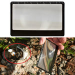 Load image into Gallery viewer, Magnifying Glass Card Fire Starter - Survivalways