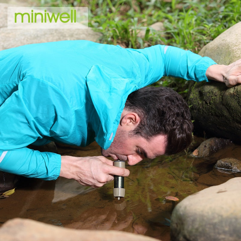 Water filter Miniwell - 2000 Liters filtration capacity - Survivalways