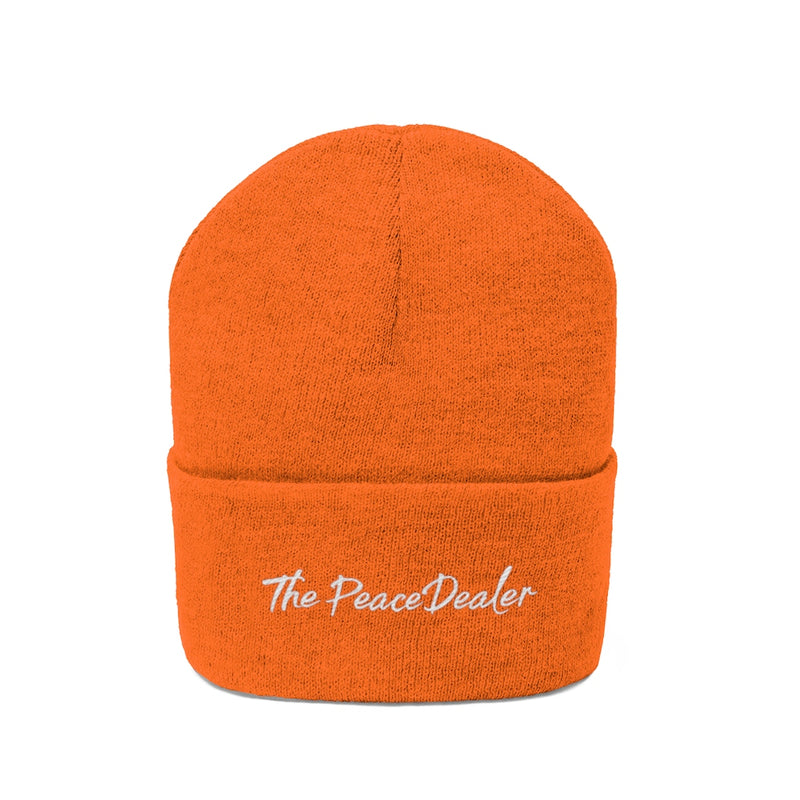 Official The Peace Dealer Knit Beanie - The Peace Dealer