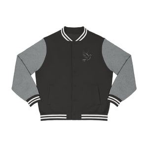 Official The Peace Dealer Men's Embroidered Varsity Jacket - The Peace Dealer
