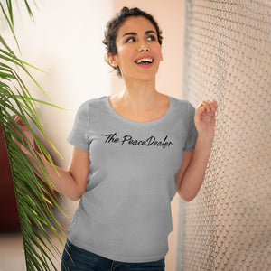 The Official Peace Dealer Organic Women's Lover T-shirt - The Peace Dealer