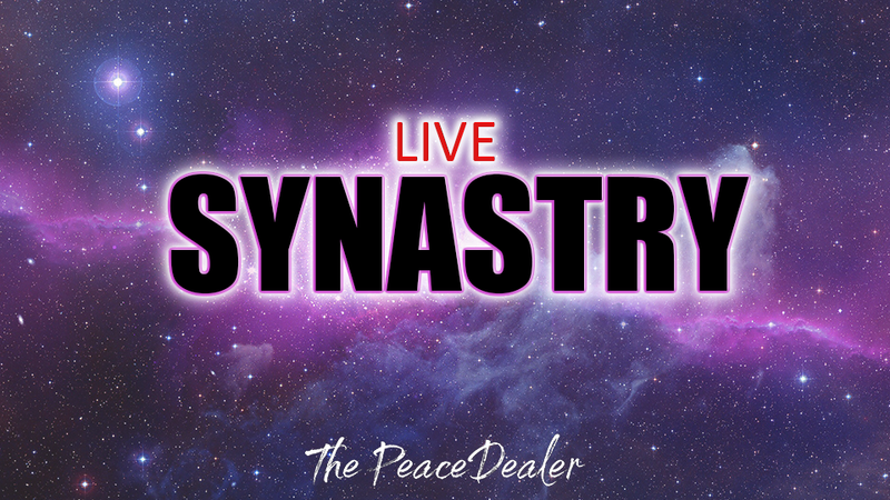 LIVE Synastry Chart - The Peace Dealer