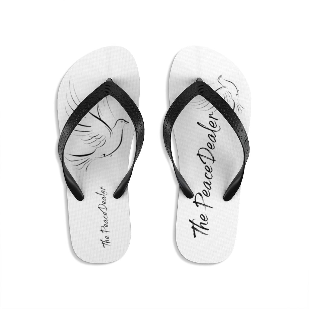 Official The Peace Dealer Unisex Flip-Flops - The Peace Dealer