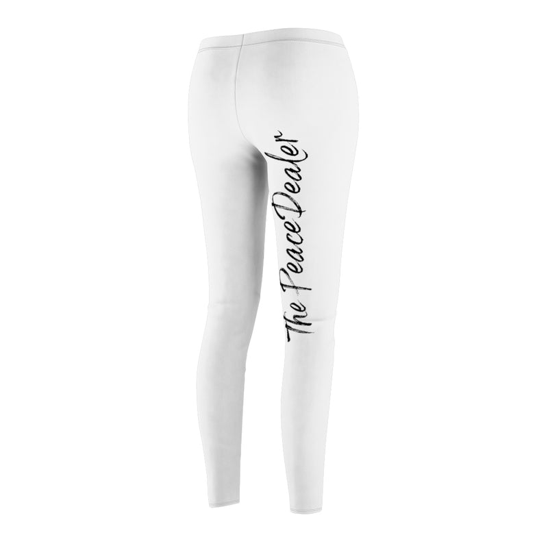 Official The Peace Dealer Women's Cut & Sew Casual Leggings - The Peace Dealer