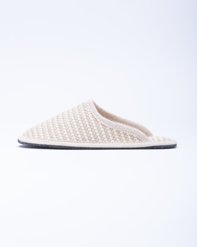Women's Stella Braided Hemp Slipper Natural