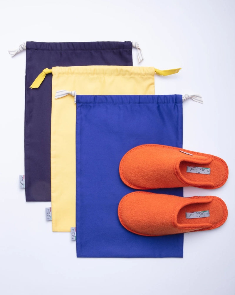 Premium Supima Cotton Slipper Travel Bag (6 colors)