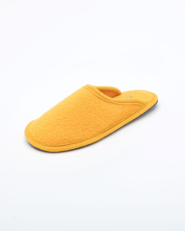 Women's Boiled Wool Stella Slipper Yellow