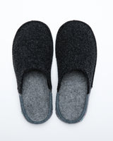 Men's Nuvola Bico Wool Slipper Charcoal