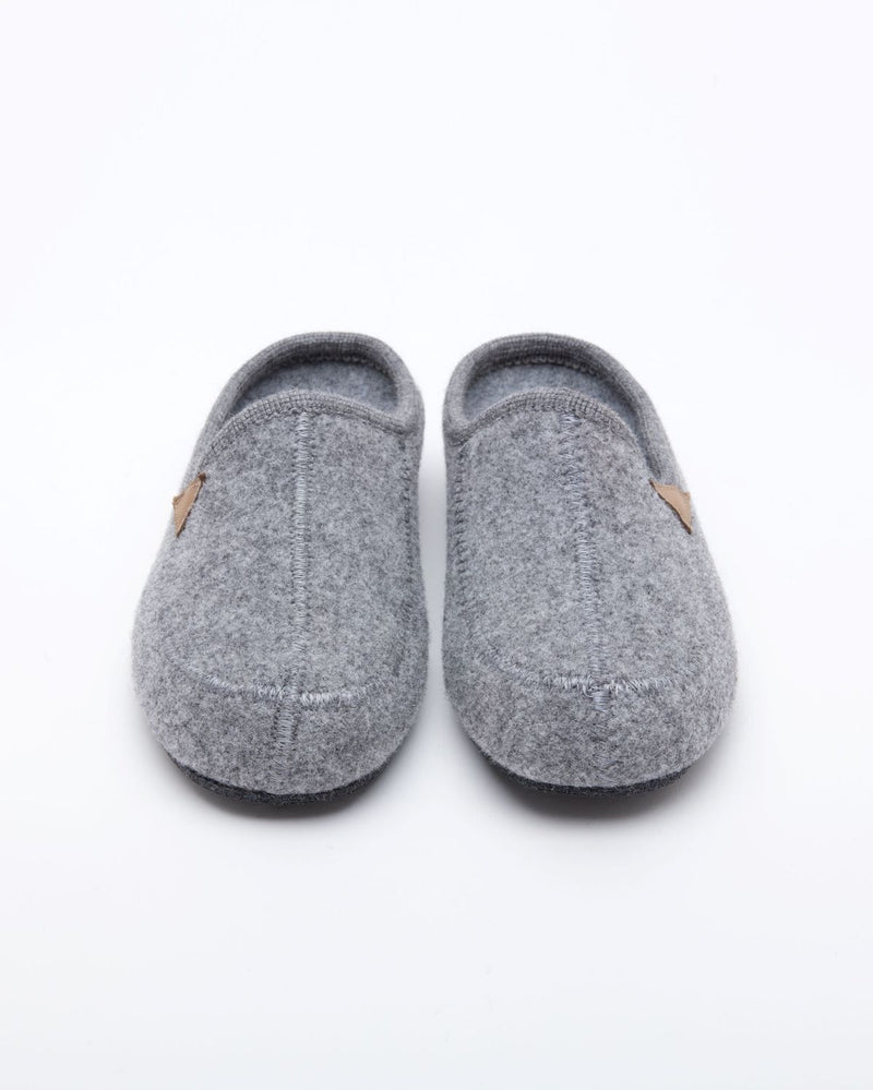 Men's Casies Wool Mule Slipper Grey