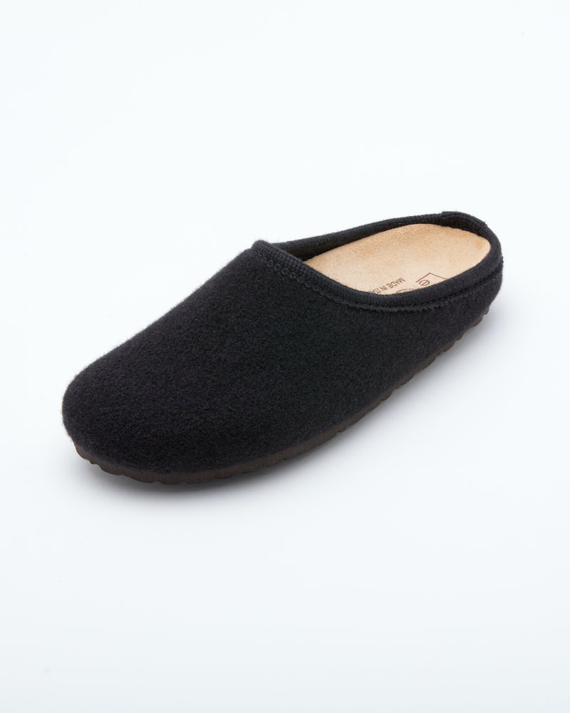 Women's Nebraska Wool Clogs Black