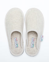 Men's Boiled Wool Stella Slipper Beige