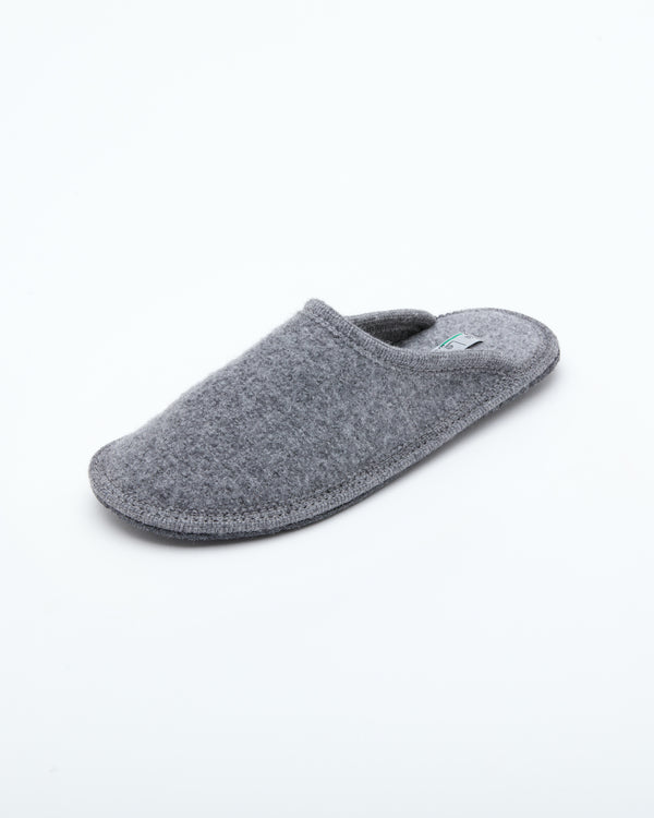 Men's Boiled Wool Stella Slipper Grey