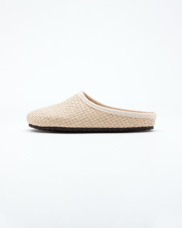 Men's  le clare nebraska woven  hemp clog shoe