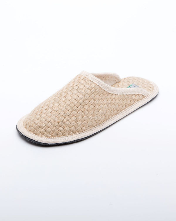Men's Stella Woven Hemp Slipper Natural