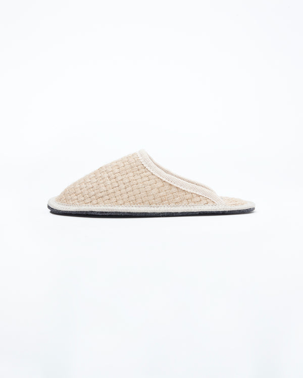 Women's Stella Woven Hemp Slipper Natural