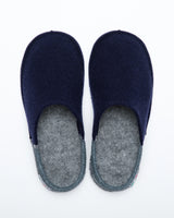 Men's Nuvola Bico Wool Slipper Navy