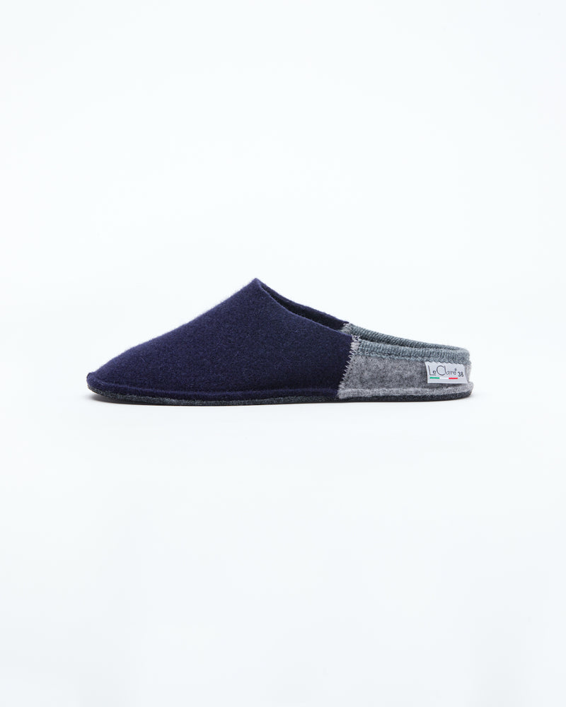 Women's Nuvola Bico Wool Slipper Navy