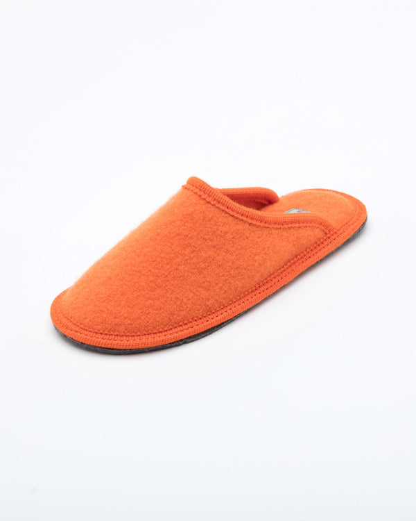 Men's Boiled Wool Stella Slipper Orange