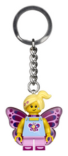 Load image into Gallery viewer, Butterfly Girl Keychain