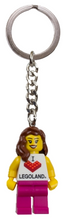 Load image into Gallery viewer, Keychain LEGOLAND MF Girl