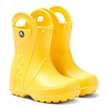 Load image into Gallery viewer, Crocs™ Yellow Rain Boot