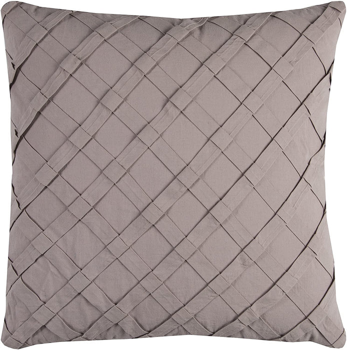 Light Taupe Down Filled Pillow