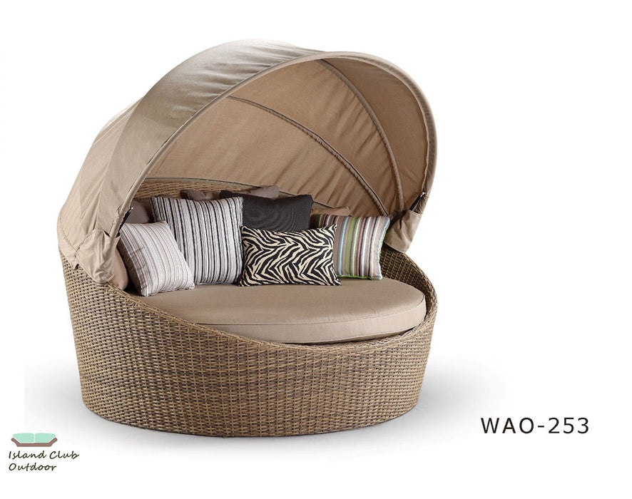 WAO-253L-BW Daybed with Canopy