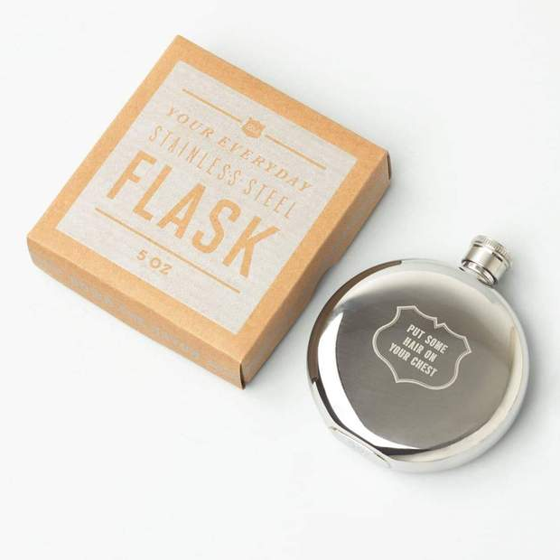 Put Hair On Your Chest Flask