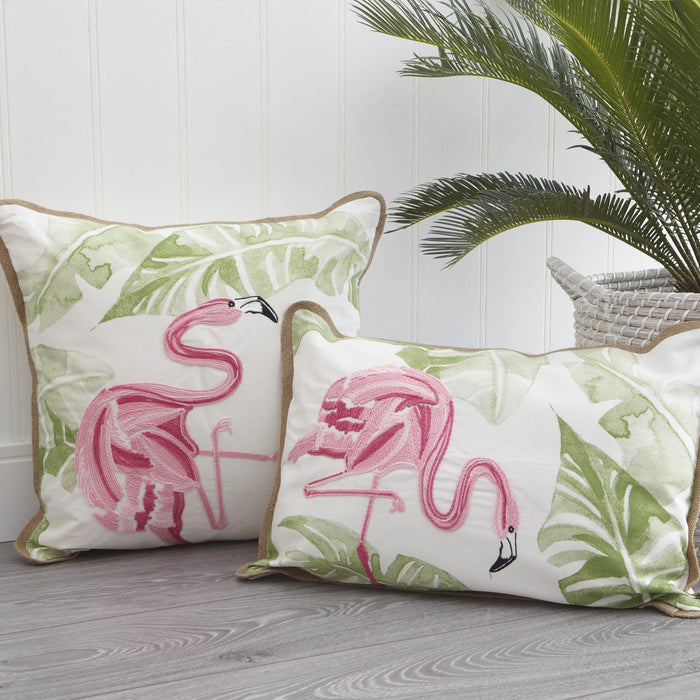 Flamingo Cushion Cover-Square