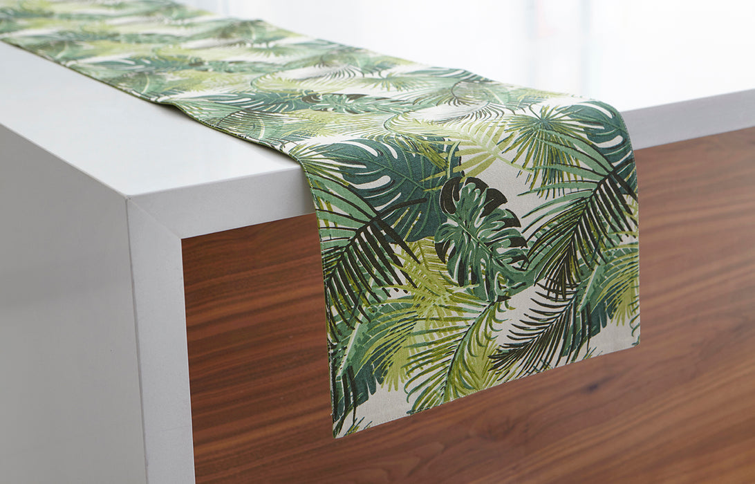 Palm Leaf Runner-Green