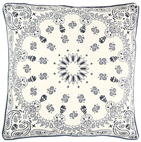Blue & Ivory Pillow