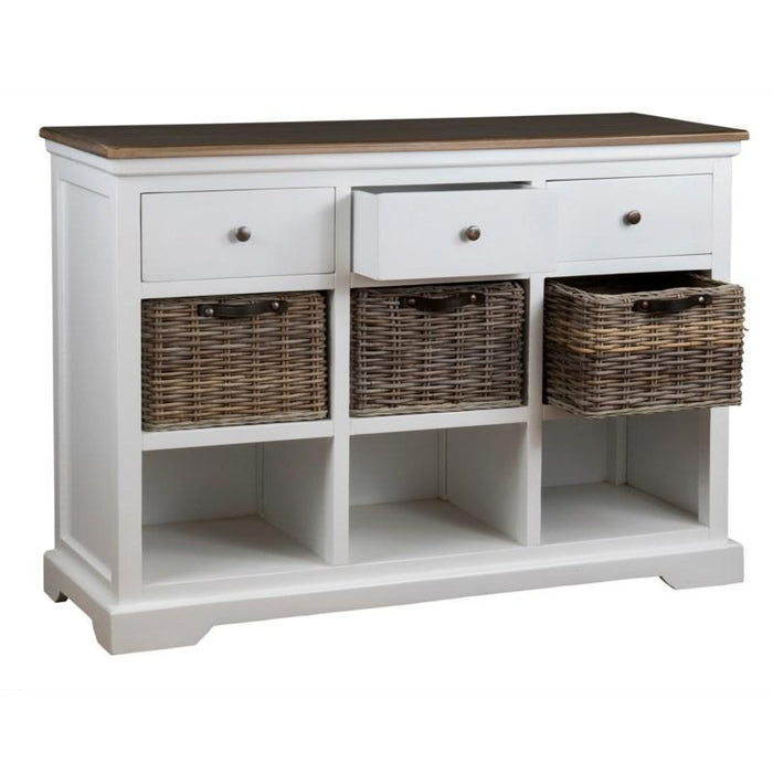 Simone 3 Drawer Console