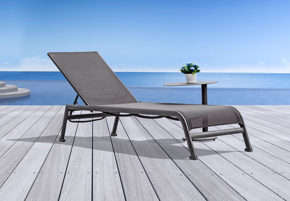 Sunset Chaise Lounger - Taupe
