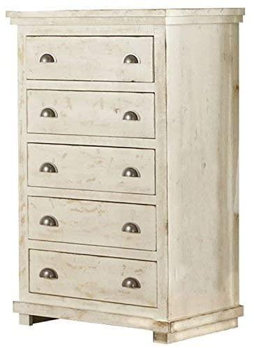 Willow Chest - Distressed White