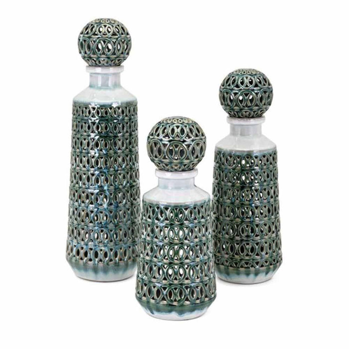 Vivian Bottles with Stopper - Large