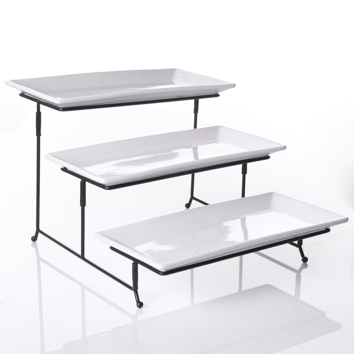 Gracious 3-Tier Serving Set