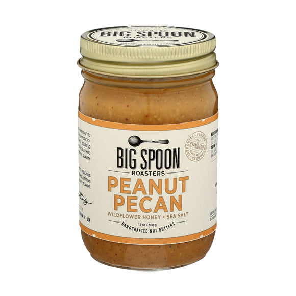 Big Spoon Roasters Peanut Pecan Butter, 13oz