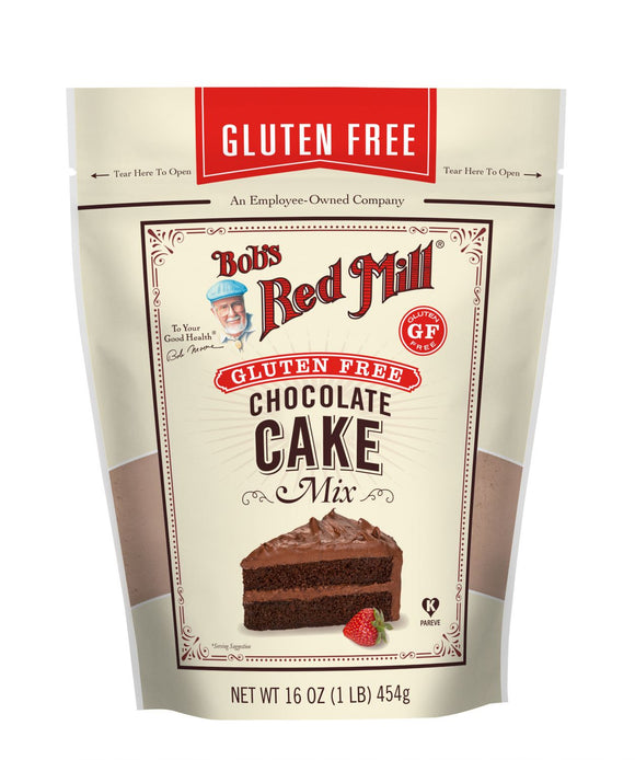 Bob's Red Mill, Chocolate Cake Mix, Gluten Free, 16oz