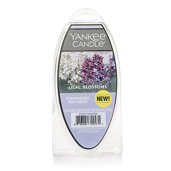 Yankee Candle Fragranced Wax Melts, Lilac Blossoms