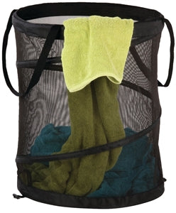 Large Mesh Pop-Up Hamper, Spiral