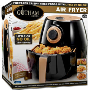 Gotham Steel Air Fryer, Black