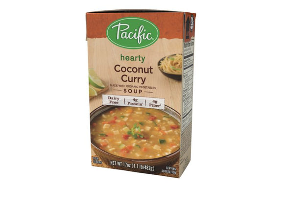 Pacific Hearty Coconut Curry Soup, 17 oz