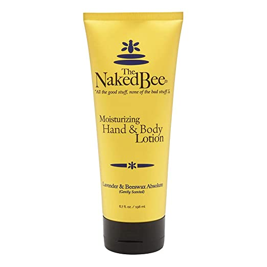 The Naked Bee Moisturizing Hand & Body Lotion, Lavender & Beeswax Absolute, 6.7 oz
