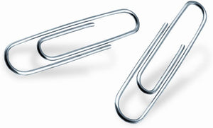 Paperway Paper Clips, 150 Count Pack
