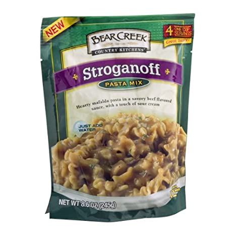Bear Creek Country Kitchens Pasta Mix, Stroganoff