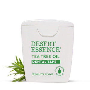 Desert Essence Dental Tape, Tea Tree Oil, 30 Yards, Waxed